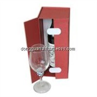 Paperboard Champagne Box with Opening Doors