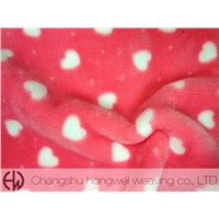 Printed Polyester Flannel Fabric