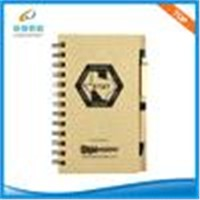 Recycle Promotional Memo pad with colored paper