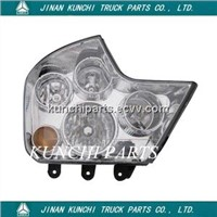 .SINOTRUK HOW0 A7 Combination headlight WG9925720001