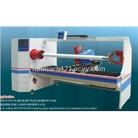 Single shaft tape roll cutting machine/tape making machine for duct tape ,pvc tape