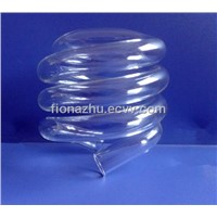 Spiral Clear Tube for CFL 12w