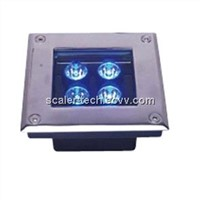 Square LED Inground Light - 4W