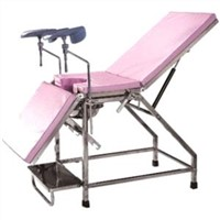 Stainless Steel Obstetric Bed (B-42)