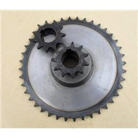 Stock Sprocket DIN8187-Isoir606 and Stainless Steel Sprocket