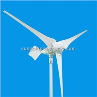 Sun Gold Power 1000W wind turbine generator 24/48V AC 3 blades
