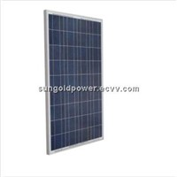 Sun Gold Power 100W Polycrystalline Solar Panel  , photovoltaic panel