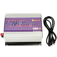 Sun Gold Power 500W LCD Grid Tie Inverter For Solar Panel System DC 10.8V - 30V