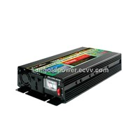 Sun Gold Power 600W Peak 1200W DC 12/24V Modified Wave Power Inverter With Charger Voltage Display