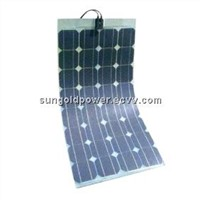 Sun Gold Power 80W Mono-crystalline Semi Flexible Solar Panel Module