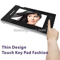 Touch Screen 7inch Video Door Phone with Memory