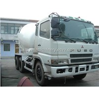 Used Cement Truck Mitsubishi FUSO In Good Condition
