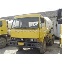Used Hyundai 6M3 Cement Truck In Good Condition