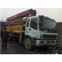Used Putneister Concrete Pump in Good Condition