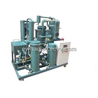 Vacuum gear oil recycling system can rapidly separate water, gas, particles,oil purifier