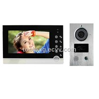 Villa Type 7inch Video & Audio Door Phone Intercom System with Id Card
