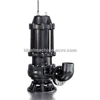 WQ series sumersible sewage pump with big power, big flow and big head