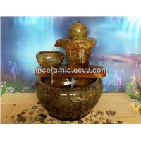 Water Pot Shape Ceramic Water Fountain