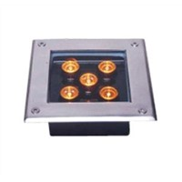 Waterproof Square LED Inground Light 5w
