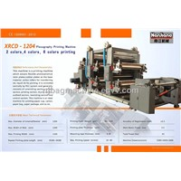 XTCD-1002 2 Color Flexography Printing Machine