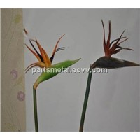 artificial flowers PU bird of paradise