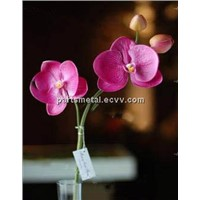 real touch flowers artificial flowers PU phalaenopsis