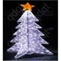 artificial waterproof christmas  led tree light