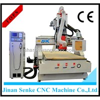 atc tool changer automatic 3d wood carving cnc router