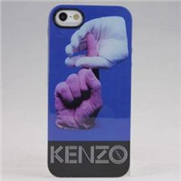 brand new Kenzo Hands by hands  design Back cover case for iPhone 5 5S