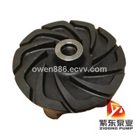centrifugal slurry pump rubber Impeller