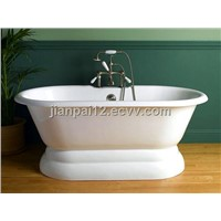 chinacast iron double ended tubs manufacturer