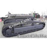crusher steel track undercarriage(crawler undercarriage)