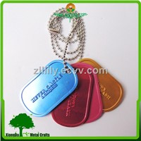custom aluminum anodizing dog tag