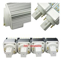 dimmable led plc bulb g24 g23 base 5w 7w 9w 11w 13w