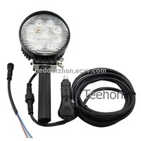 Dual-Purpose 27W LED Work Light for off-Road Vehicles Or Portability