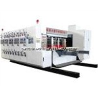 fully automatic corrugated cardboard printing slotting machine