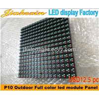 High Brightness Outdoor Full Color P10 LED Display Module Waterproof Outdoor Full Color LED Signs