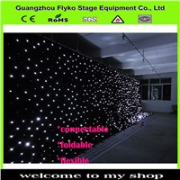 led star curtain star cloth