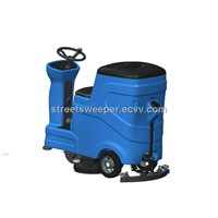 marble floor scrubber/Industrial floor scrubber/floor scrubber polishing machine