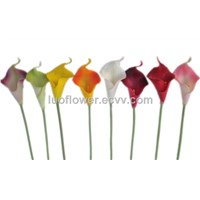real touch calla lily flower for wedding decoration