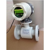 sand cement serosity flow meter