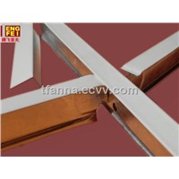 suspended Ceiling Rail/ T grid for ceiling designs