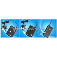 transmitter and receiver long range/2.4Ghz wireless tour guide system