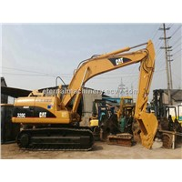 used caterpillar crawler excavator 320C