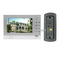 Video Door Phone Intercom System for Villa Pinhole Len+metal Camera