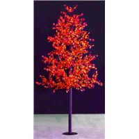 waterproof outdoor christmasled maple tree light