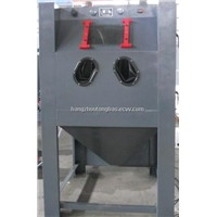 wet sandblasting cabinet machine