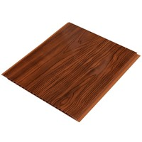wooden grain pvc ceiling panel