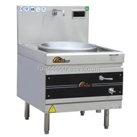 commercial induction cooker Single Burner Chinese Wok Range