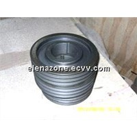 custom belt pulley casting iron pulley
